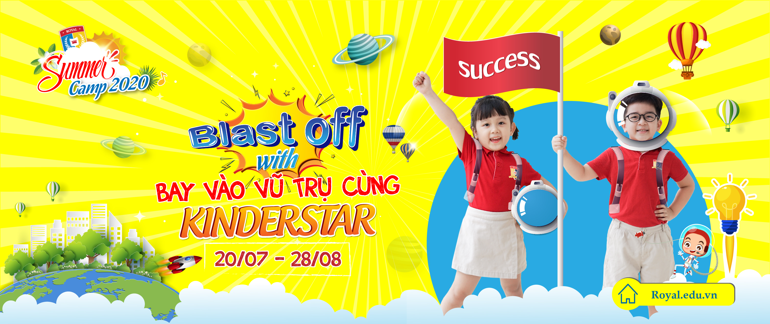 Summer Camp 2020 - Blast off with KINDERSTAR