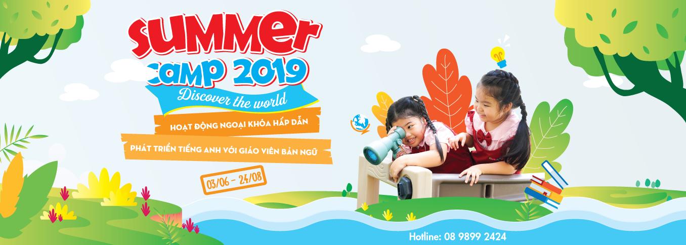 Trải nghiệm Summer Camp 2019